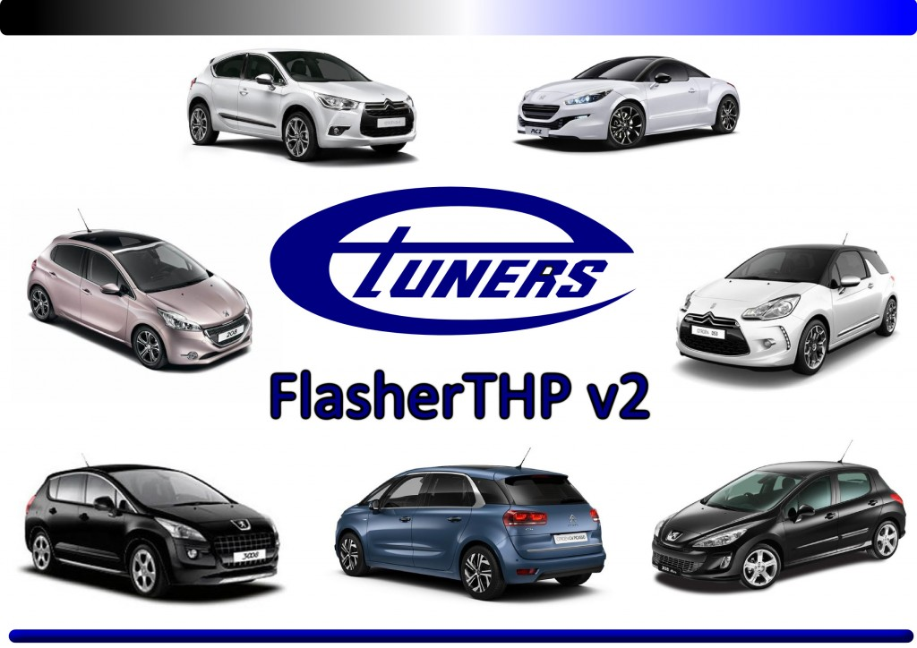 Etuners FlasherTHP - Remap your THP car via OBD