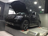 Mercedes ML320 CDI - Stage 1 front1