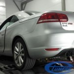 VW Eos 2.0 TSI - Stage 4 Garrett GT30 back