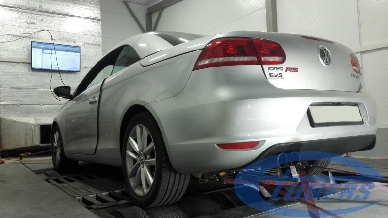 VW Eos 2.0 TSI - Stage 4 Garrett GT30 back