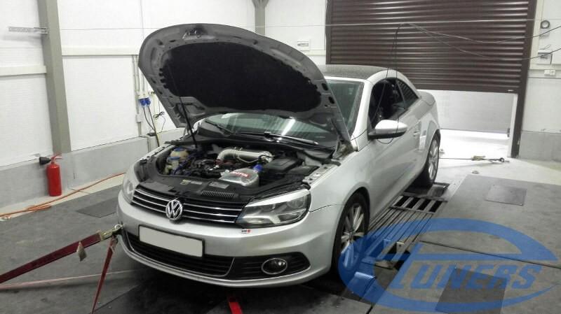 VW Eos 2.0 TSI - Stage 4 Garrett GT30 front