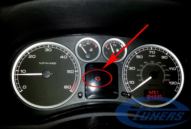 Peugeot 307 Check Engine Light
