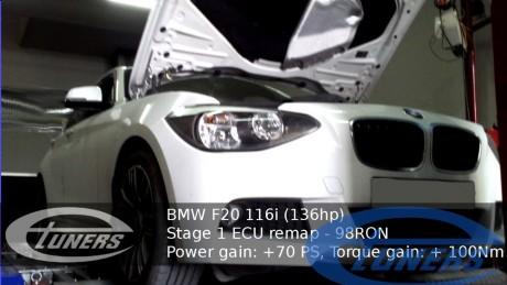 BMW F20 Etuners Stage 1