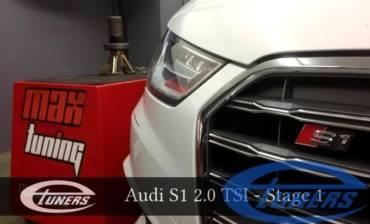 Audi S1 2.0 TSI – Stage 1 98RON