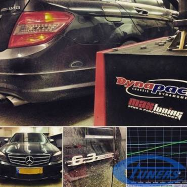 Mercedes C63 AMG 6.2 – Stage 2 Supercharger kit
