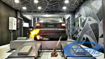 Audi A3 8P 3.2 Quattro S-tronic + Turbokit + Etuners