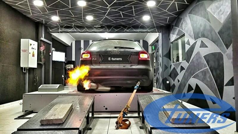 Audi A3 8P 3 2 Quattro S-tronic + Turbokit + Etuners – eTuners