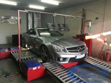 Mercedes SL63 AMG – Stage 1 98RON