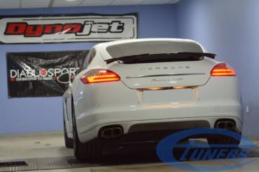 Porsche Panamera Turbo 4.8T – Stage1 98RON