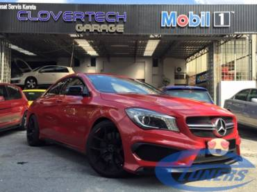 Mercedes CLA45 AMG – Stage 1 95RON