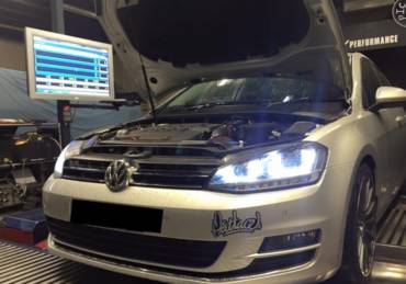 VW Golf 7 2.0 TDI Bluemotion – Stage2