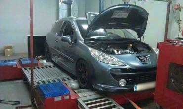 Peugeot 207 1.6 THP – Stage5 470hp for 100+RON, EFR6258