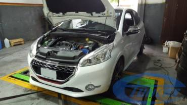 Peugeot 208 GTI 1.6T – Stage4 RCZ turbo kit