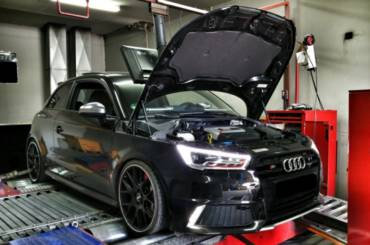 Audi S1 – Stage3 IS38 turbo (Golf 7R turbo) 98RON