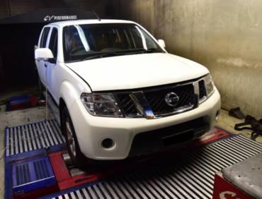 Nissan Navara 2.5dCi – Stage 1