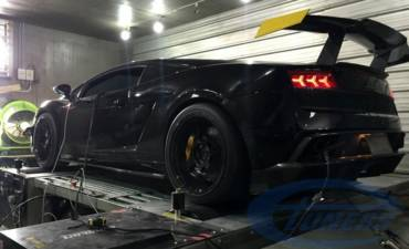 Lamborghini Gallardo LP560 + Etuners + Heffner Turbo kit
