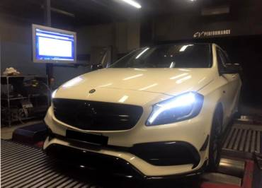 Mercedes A45 AMG – Stage 1 98RON