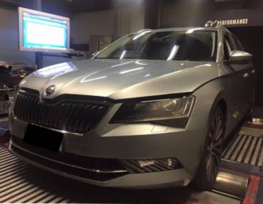 Skoda Superb 2.0 TSI 280hp (206kW) 4×4 DSG – Stage 1 98RON