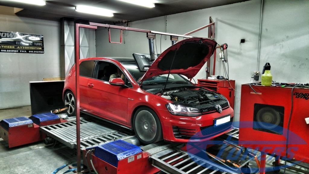 VW Golf VII GTi 2 0 TSI Performance – Stage 3 IS38 turbo kit