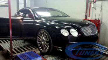 Bentley Continental GT 6.0 W12 – Stage 1 98RON