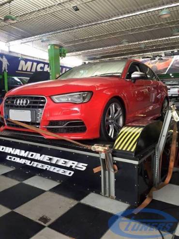 Audi S3 8V 2.0 TFSI – Stage3 LOBA LO462 + WMI