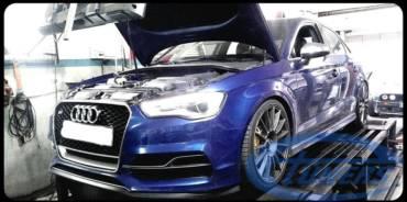 Audi S3 8V 2.0TFSI – Stage5 TTE525 98RON