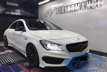 Mercedes CLA45 AMG 2.0T – Stage 3 Hybrid turbo 98RON