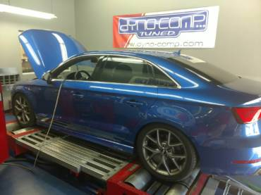 Audi S3 8V 2.0 TFSI US spec – Stage5 TTE525 91Oct