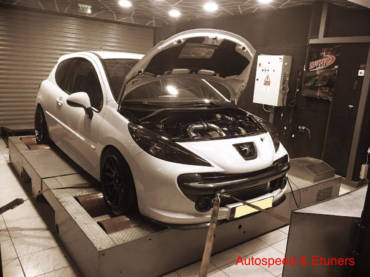 Peugeot 207 Rallye 1.6T – Stage5 430hp+ with Garrett GTX28