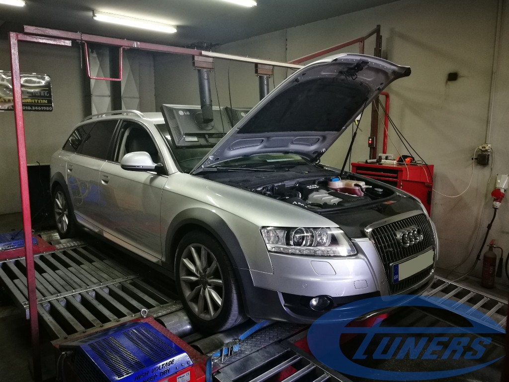 Audi A6 Allroad 3 0TFSI – Stage 2 98RON – eTuners
