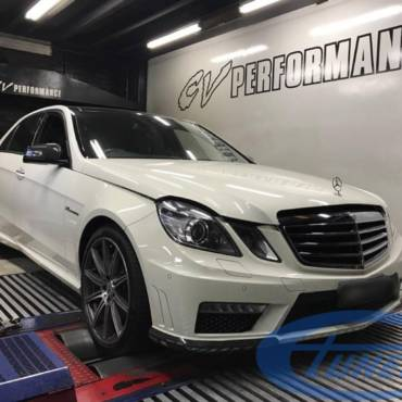 Mercedes E63 AMG 5.5 V8 Biturbo – Stage2 98Ron