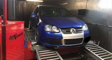 VW Golf 5 R32 3.2 - RUF supercharger kit + Etuners stage4 ECU remap