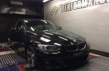 BMW 335i N55 - Etuners Stage1 @ Dynodynamics rolling road, CV Performance