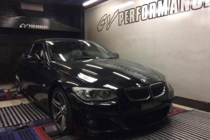 BMW 335i N55 - Etuners Stage1 @ Dynodynamics rolling road, CV Performance