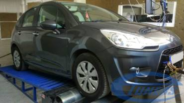 Citroen C3 1.4 HDI 70hp – Stage1 (what on earth is this little car doing?)