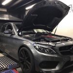 Dyno results - Mercedes C43 AMG on DynoDynamics - Etuners Stage1 ECU remap