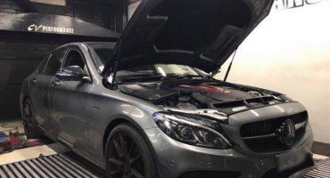 Dyno results - Mercedes C43 AMG on DynoDynamics - Etuners Stage1 ECU remap