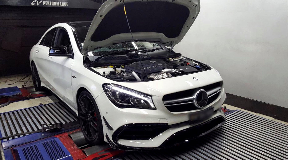 Mercedes CLA45 AMG 2.0T - Etuners Stage2 98RON