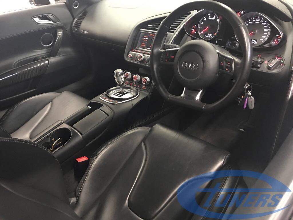 Audi R8 4.2 FSI + CFI design Twin Turbo kit - Etuners remap - on Dyno