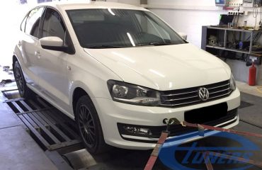 VW Polo GT 1.4 TSI 125hp - Etuners Stage1 ECU remap, tested on Dynojet
