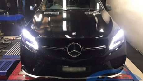 Mercedes GLE450 AMG 4MATIC 3.0T - Etuners Stage1 ECU remap