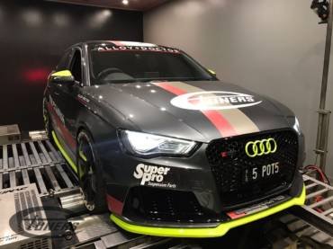 Audi RS3 8V 2.5 TFSI – Ethanol tuning and a custom Stage2 for E85