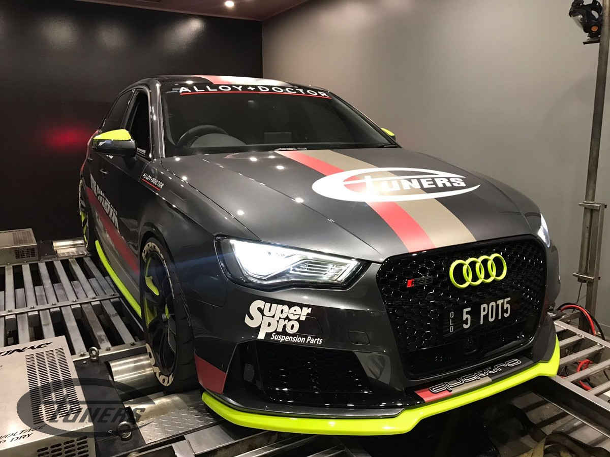 Audi RS3 8V 2 5 TFSI – Ethanol tuning and a custom Stage2