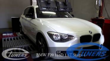 BMW F20 116D 1.6T – Stage 1