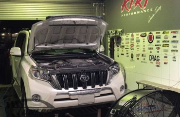 Toyota Prado 4.0i for an Etuners Stage1 ECU remap @ KtRt Performance