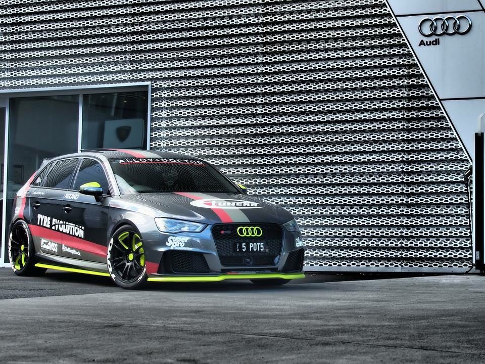Greg's Audi RS3 8V with Etuners stage2 E85