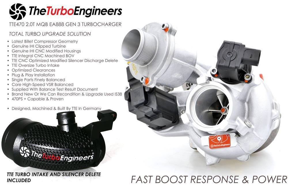 TheTurboEngineers TTE470 for Gen3/MQB cars