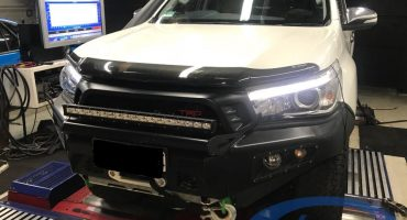 Toyota Hilux 2.8 1GD-FTV - Etuners Stage1 ECU remap