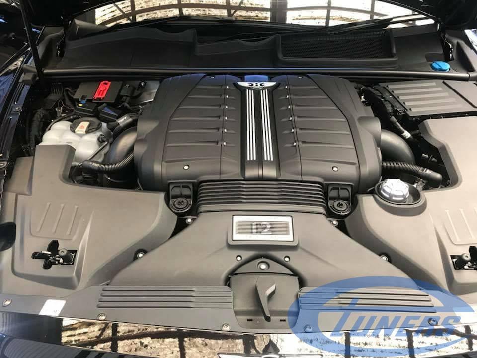 Bentley Bentayga 6.0 TFSI - Engine Bay