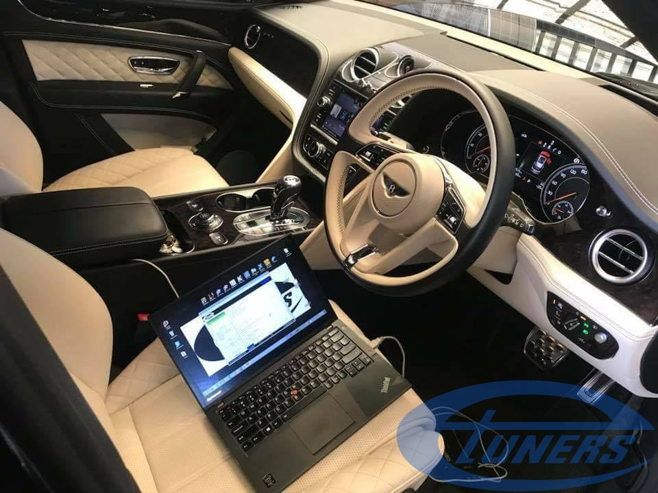 Bentley Bentayga 6.0 TFSI - Being reflashed with an Etuners Stage1 ECU remap for 98RON